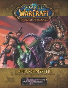 Couverture de l'extension Lands of Mystery du jeu de rôle Warcraft