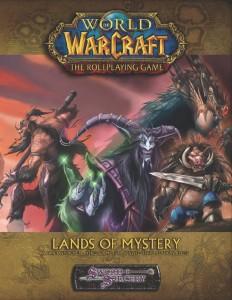 Couverture de l'extension Lands of Mystery du jeu de rôle Warcraft