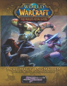 Couverture de l'extension More Magic & Mayhem du jeu de rôle Warcraft