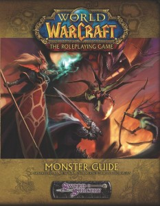 Couverture de l'extension Monster Guide du jeu de rôle Warcraft