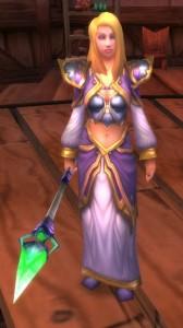 Jaina Portvaillant (Proudmore) dans le jeu vidéo World of Warcraft