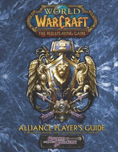 Couverture de l'extension Alliance Player's guide du jeu de rôle Warcraft