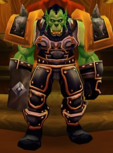 Thrall, chef de la Horde, dans world of warcraft