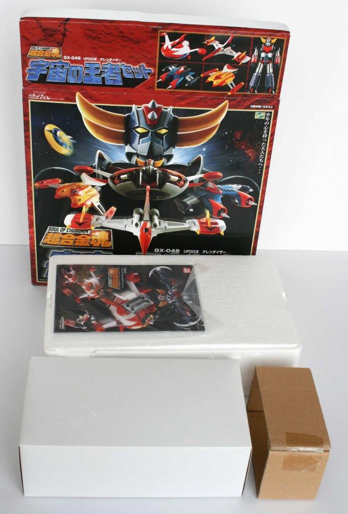 ouverture de la boîte Goldorak Soul of Chogokin GX-04S