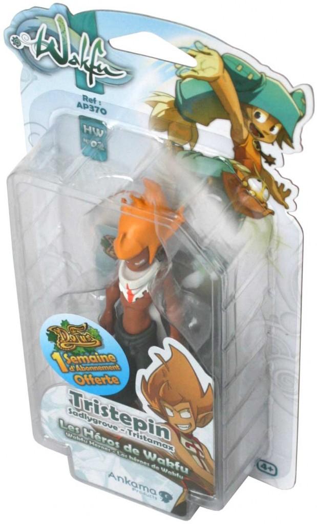 Packaging de la figurine HW N°2 de Tristepin (Wakfu)