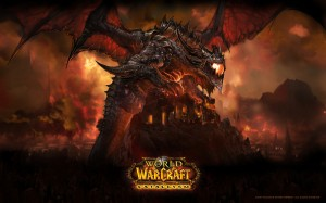le dragon Aile de mort (Deathwing) pour Cataclysm