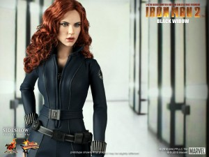 Image d&#039;une figurine Black Widow