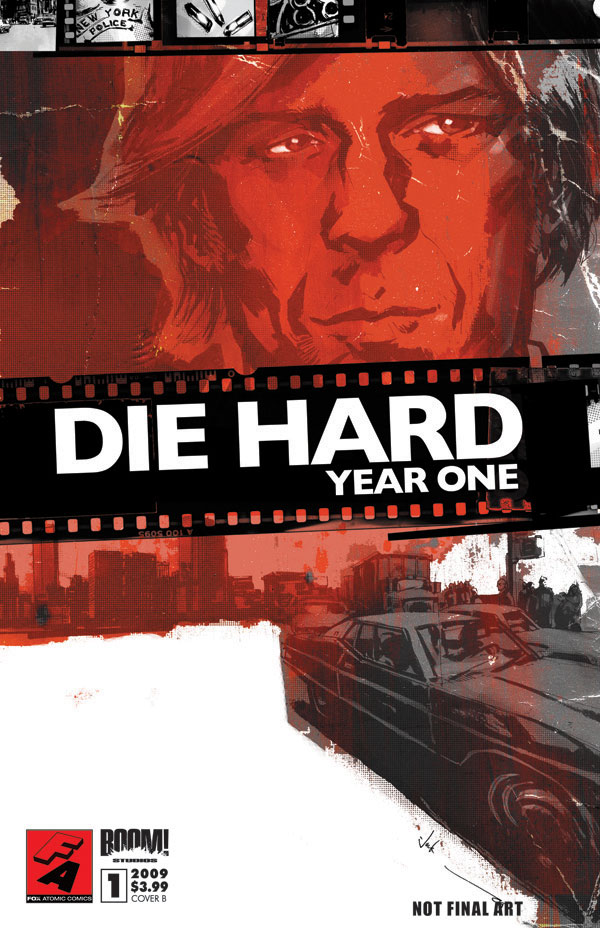 Couverture du comics Die Hard : Year 1