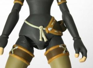 Les jonctions entre les hanches et les jambes sont très approximatives