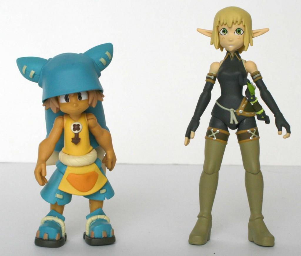 Yugo est beaucoup trop grand par rapport à Evangelyne et aux autres personnages de la collections DX