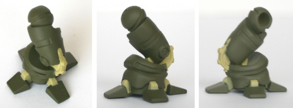 On trouve en bonus avec Nox le pied droit de la figurine de Razortemps