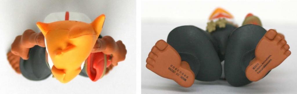 Dessus et dessous de la figurine Wakfu DX N°02 : Tristepin