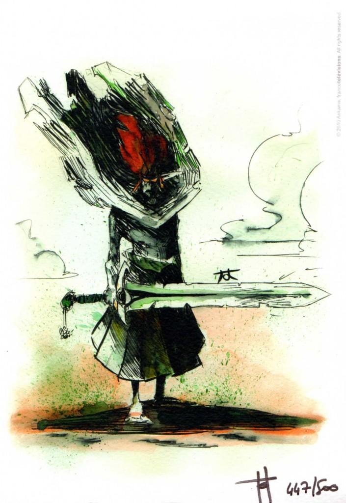 illustration exclusive de Tristepin réalisée par Tot, le réalisateur de la saison 1 de Wakfu