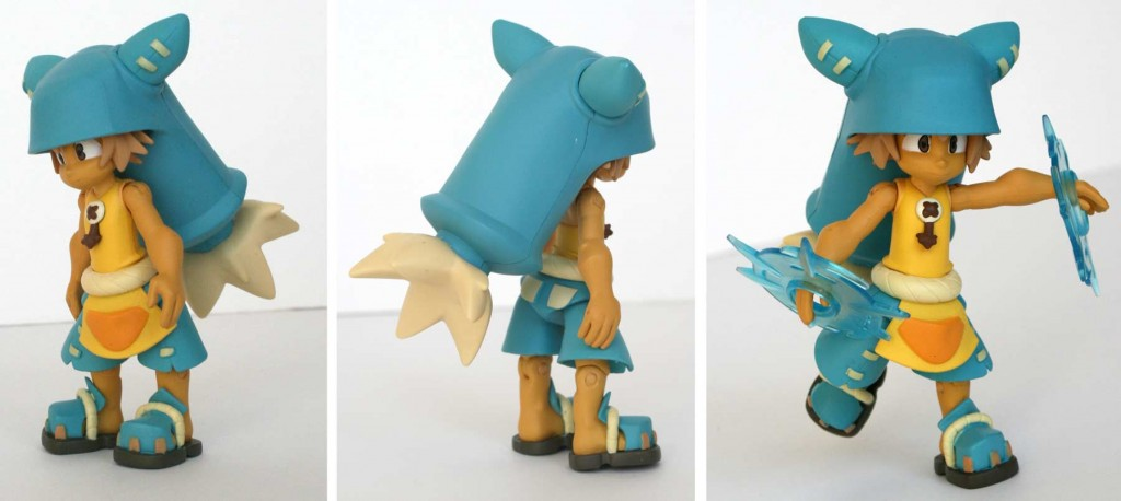 Collection Wakfu DX : figurine de Yugo et Az