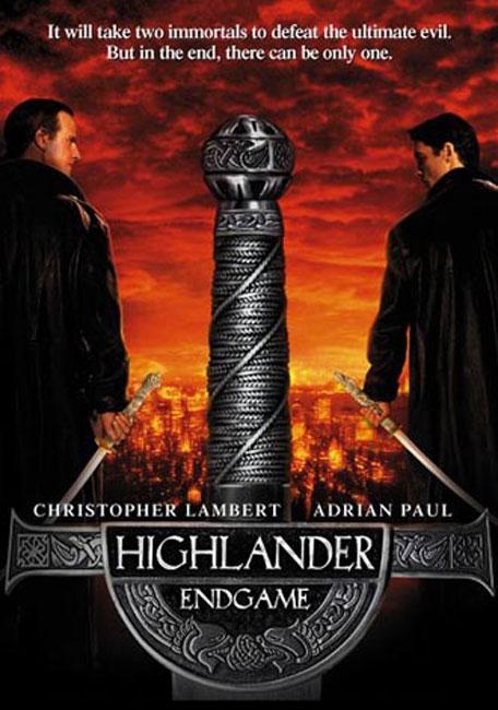 Affiche américaine de Highlander 4