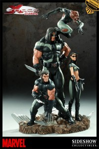 Diorama X Force image générale sans Wolfbane