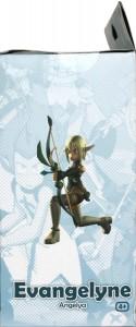 Côté gauche du Packaging de la figurine Wakfu DX N°03 : Evangelyne