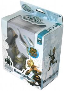 Packaging de la figurine Wakfu DX N°03 : Evangelyne