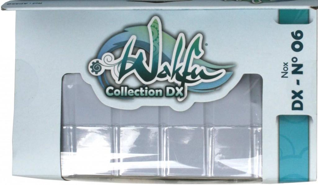 Dessus du packaging de figurine DX de Nox (Wakfu)