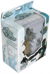 Packaging de figurine DX de Nox (Wakfu)