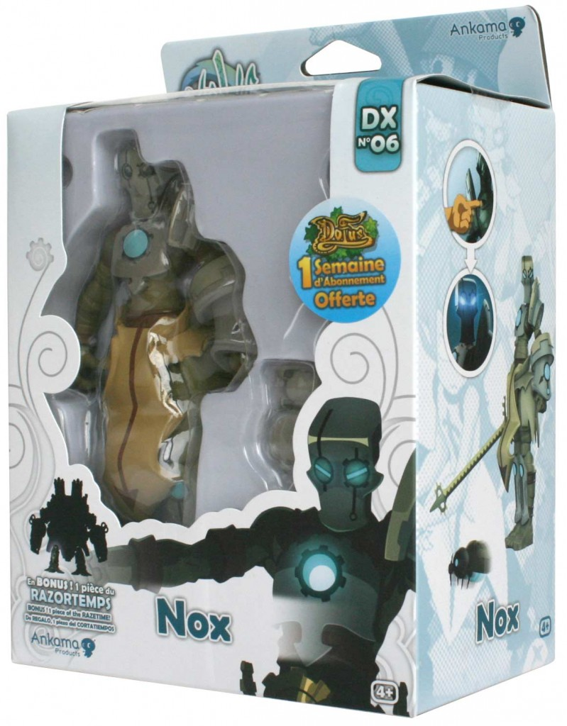 Packaging de figurine DX de Nox (Wakfu)