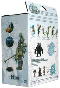 Dos du packaging de figurine DX de Nox (Wakfu)