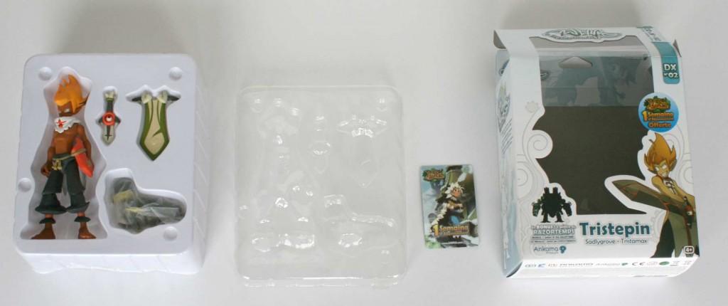 Contenu de la boîte de la figurine Wakfu DX N°02 : Tristepin