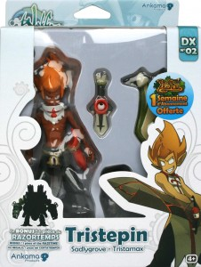 Packaging de la figurine Wakfu DX N°02 : Tristepin