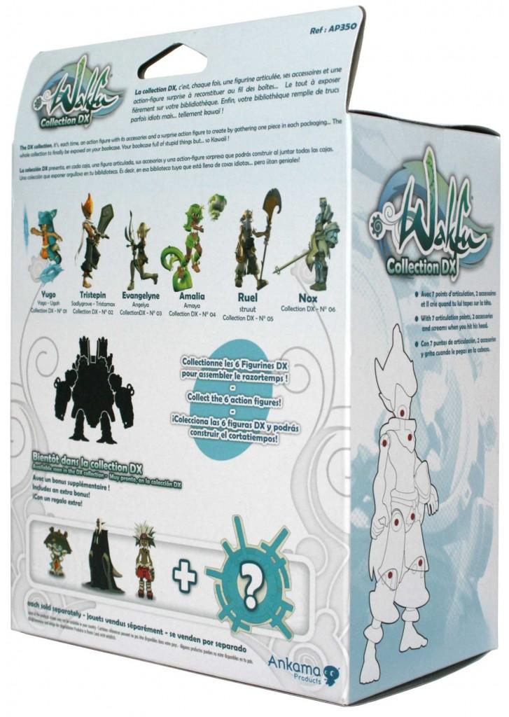 Dos du packaging de la figurine Wakfu DX N°02 : Tristepin