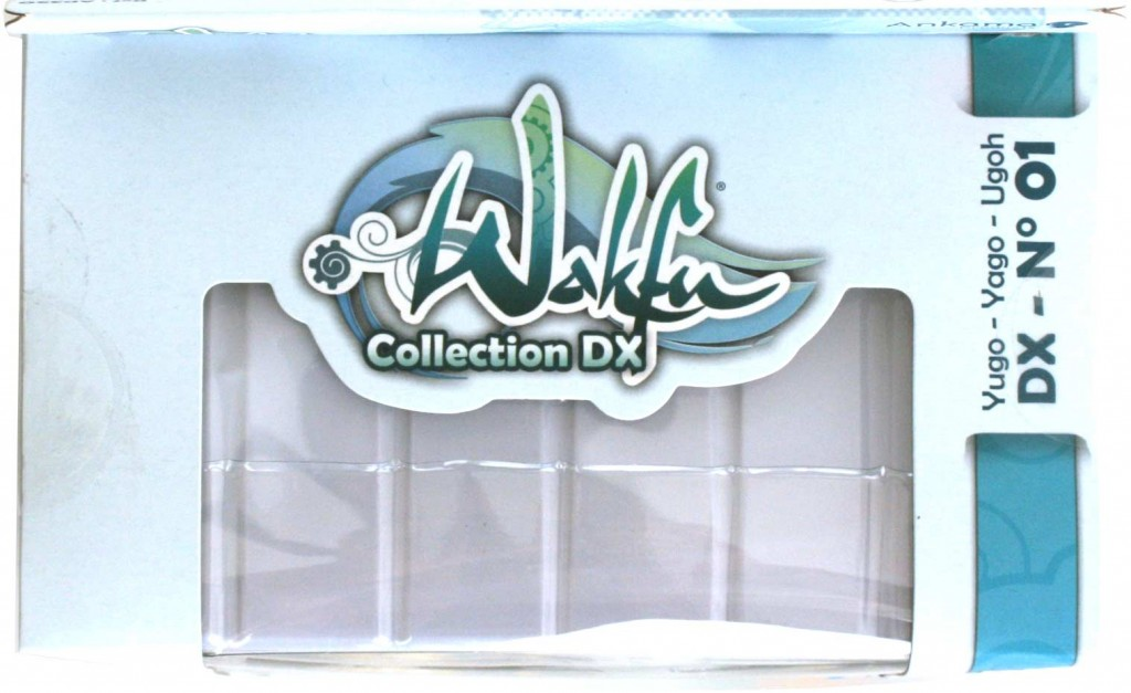 Collection Wakfu DX : dessus du packaging de la figurine de Yugo et Az