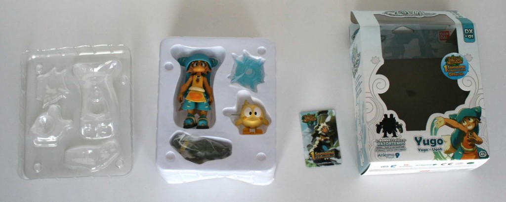 Ouverture du packaging de la figurine Wakfu DX N°01 : Yugo