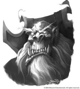 Gul'dan (Warcraft) dessiné par Samwise