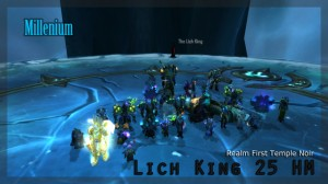 Warcraft : First Kill d'Arthas 25 HM par Millenium