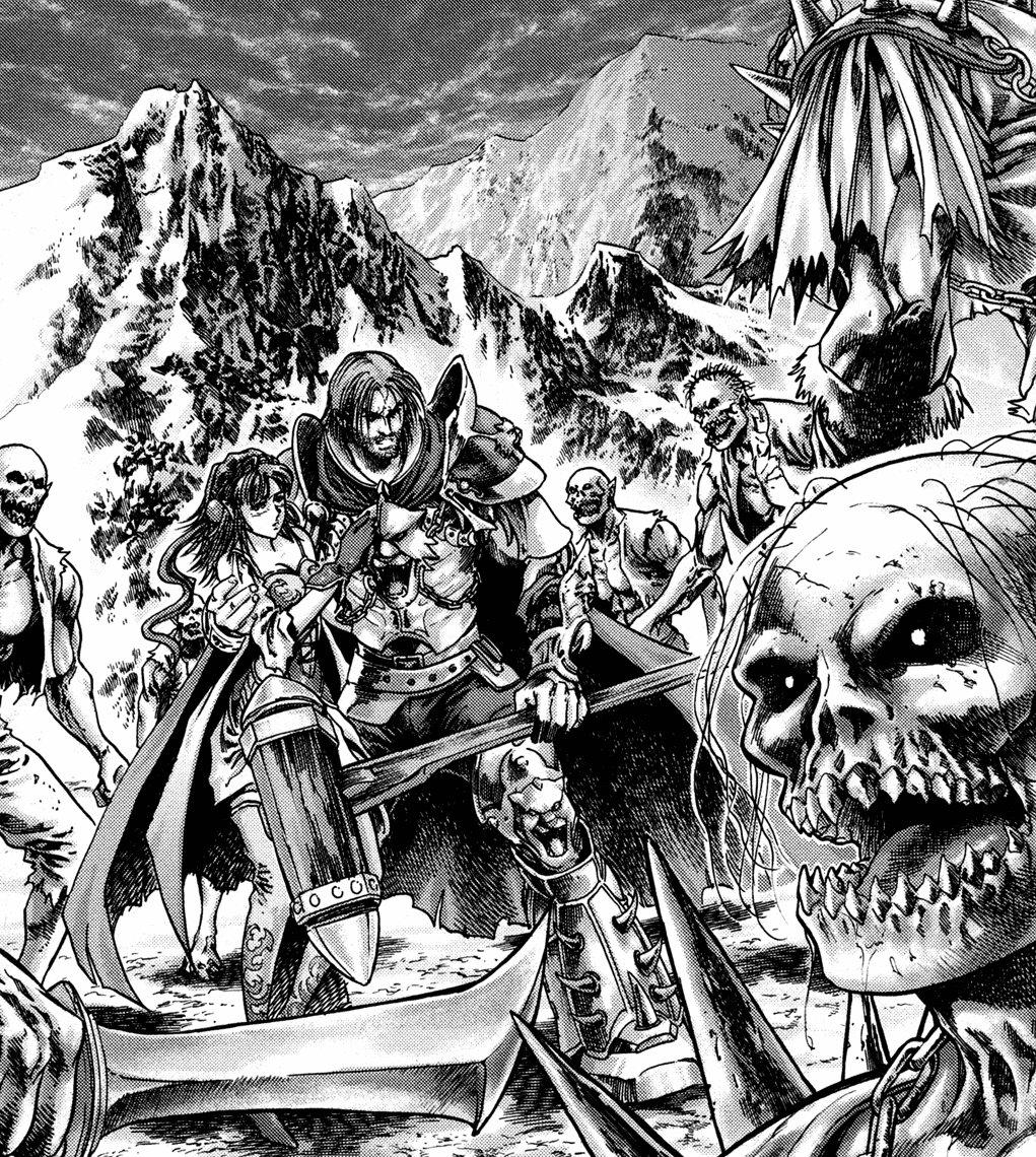 Scan Manga Warcraft: Le Puits Solaire Tome 2 : Les Ombres De Glace Manga