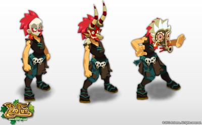 Les trois masques des zobals