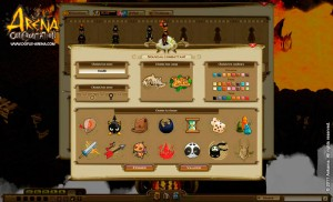 Arena Confrontation : Nouvelle interface de création de personnage (Dofus - Wakfu)