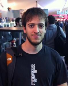 Adriàn Fernandes Delgado (Remington) au Festival de la BD d'Angoulême de 2011