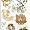 Page 13 de l'Art book de Dofus 2.0