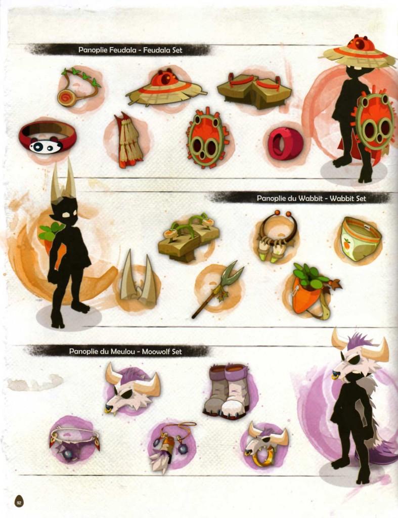 Page 92 de l'Art book de Dofus 2.0