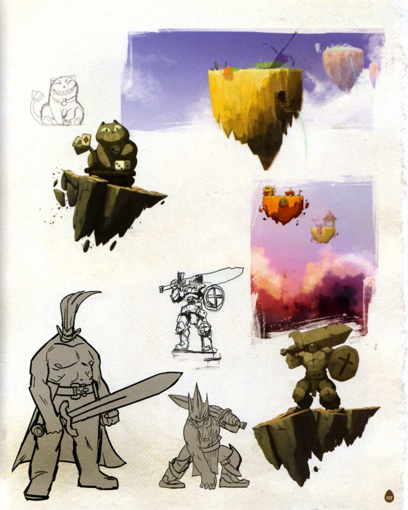Page 127 de l'Art book de Dofus 2.0