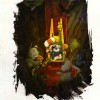 Page 142 de l&#039;Art book de Dofus 2.0
