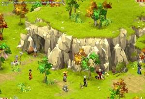 Près de la cité d'Astrub se trouve des mines autour desquelles se trouvent des craqueboules identiques à Adamaï lorsqu'il se transforme