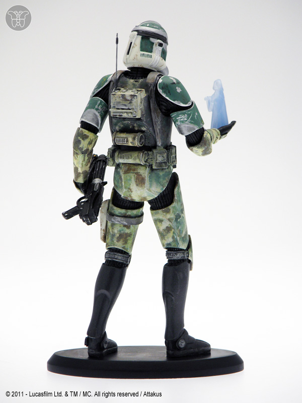 Commander Gree (Order 66) - figurine Attakus