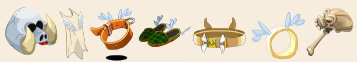 Panoplie du Dragon Cochon dans le jeu en ligne Dofus