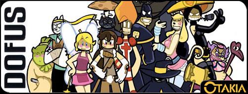 Dofus (manga) - tous les personnages
