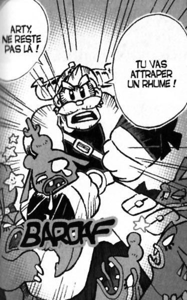 Crail le grand père d'Arty (Dofus - manga)