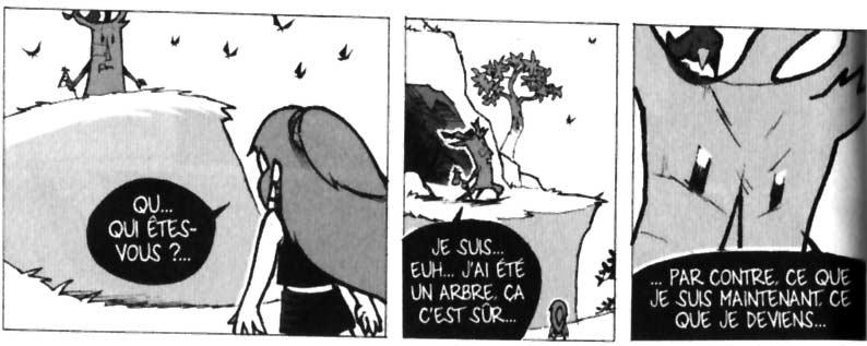 Feuille décide de devenir la gardienne du Chêne Mou (Wakfu - Dofus)