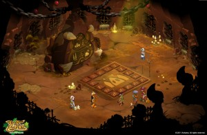 Salle de la carte du Donjon Dragon Chochon (Dofus)