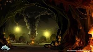 Salle de la carte du Donjon Dragon Chochon (Wakfu)