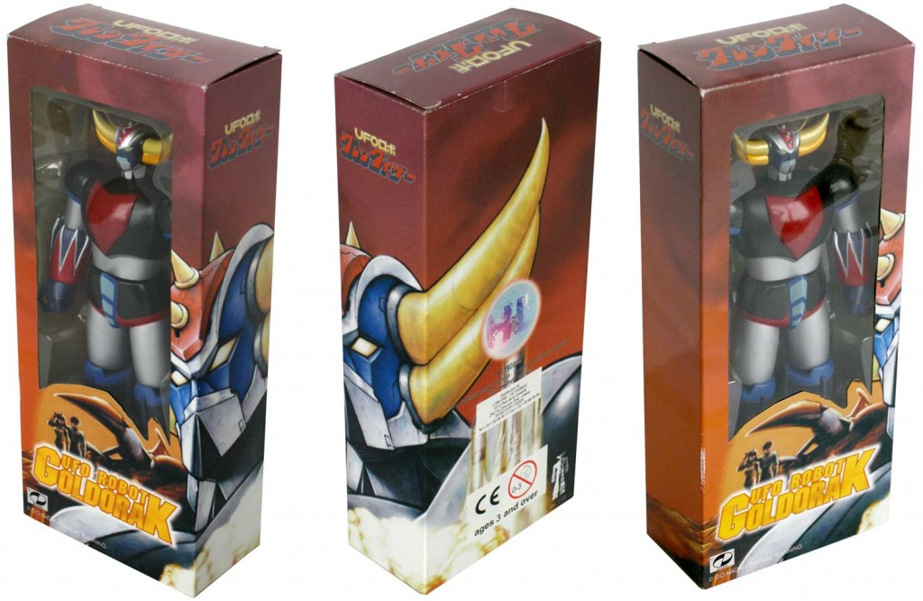 Packaging du Goldorak UFO Robot (High Dream)